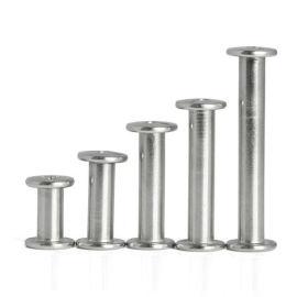 304不锈钢子母铆钉 夹板螺丝钉 十字对接螺钉