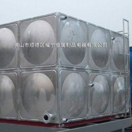 批发不锈钢保温水箱 8吨空气能保温水箱 太阳能承压保温水箱