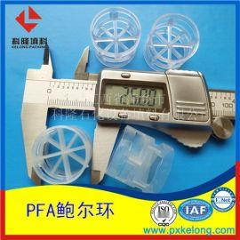 日本大金PFA材质DN25鲍尔环特殊 塑料鲍尔环