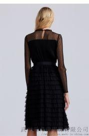 【代销货源】开服装走份店怎么拿货佛罗伦小格子公主裙