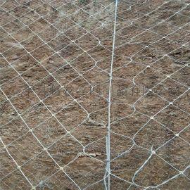 斜坡柔性安全防护网@柔性防护网的直接厂家@斜坡防护
