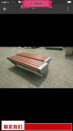 庭院座椅大厂家 户外防腐木座椅供应
