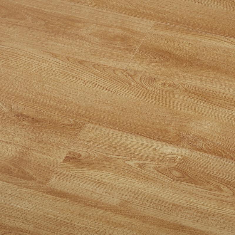 3+2新三层实木复合锁扣木地板环保 耐磨E0柚木色