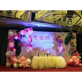 昆明花語花香商場氣球布置年會氣球裝飾展會氣球布置