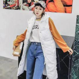 杭州品牌欧·尚点折扣女装羽绒棉衣直播爆款走份货源