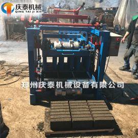 小型半自动环保制砖设备新型标砖砌块成型免烧砖机