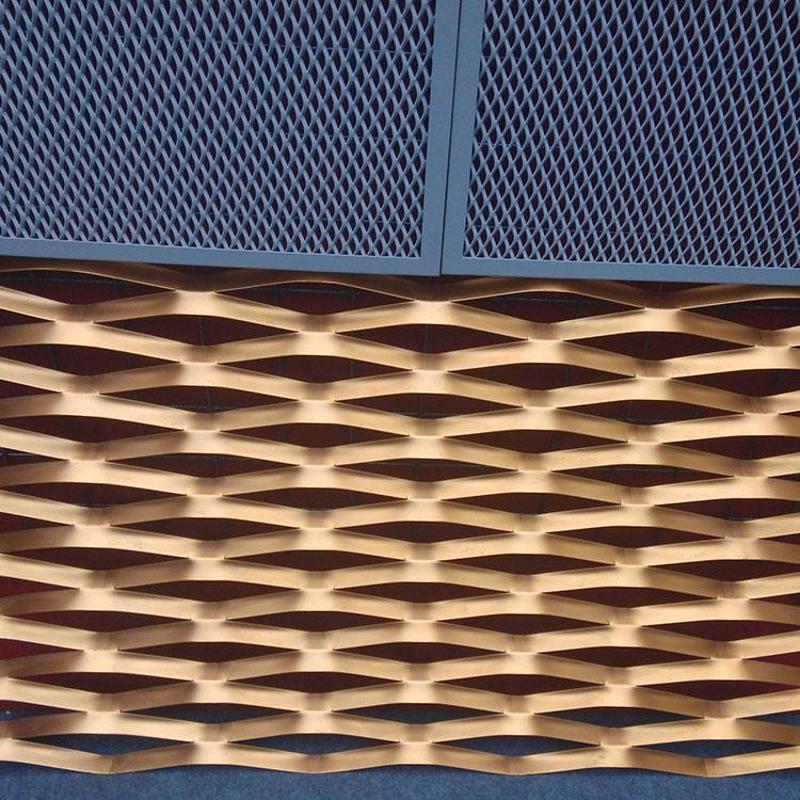 裝飾鋁板網 鋁拉網 噴塑鋁板網