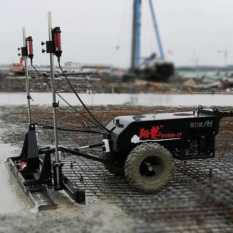 水泥路面摊铺机 超平激光整平机奥力德