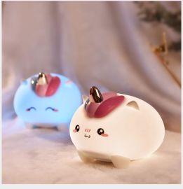 礼品 玩具 小怪兽夜灯 硅胶夜灯 萌宠夜灯 小夜燈