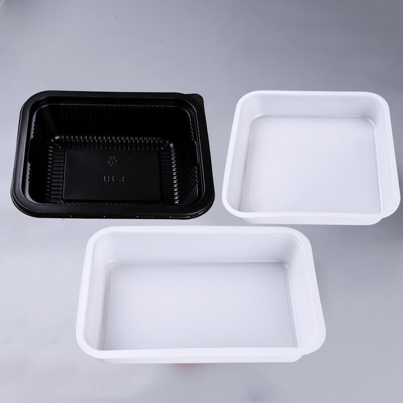 小龍蝦一次性塑料飯盒包裝透明沙拉果蔬托盤生海鮮冷鮮肉包裝托盤