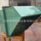 供應WEXD-900型靜音節能壁式軸流排風機可配防爆電機
