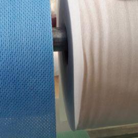 厂家产地货源_新价供应多规格优质压花杀菌水刺无纺布_白色针刺布