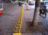 自行车停车架螺旋式