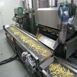 节能连续式薯片油炸生产线 经济实惠型薯条油炸设备