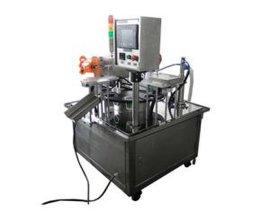 东莞市全自动杯盒灌装封口机,绿豆沙全自动灌装机封口机
