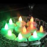 晚会婚礼专用发光浮水蜡烛灯