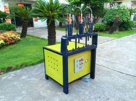 精诚机械供应:不锈钢管冲孔设备、液压冲孔冲弧机
