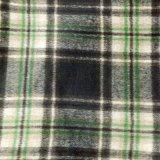 畅销款 现货批发 650g双面格子羊绒大衣呢 羊毛呢面料 服装布料