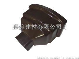 蒂美DMI供应海南屋檐接水槽 塑料排水管 PVC成品天沟