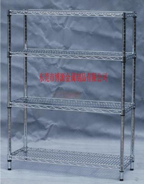 批发上海镀铬置物架厂家  防静电镀铬置物架