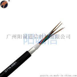 24芯铝带松套层绞式室外光缆GYTA