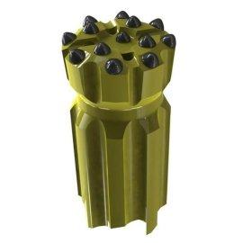 T51深孔螺纹钻头,深孔螺纹钎头,深孔螺纹钻杆,深孔螺纹钎杆