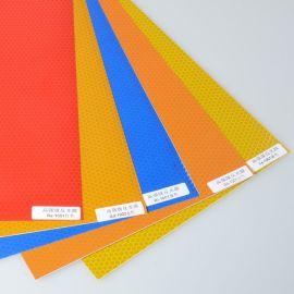 标牌反光膜 PVC高强级反光膜适 玻璃微珠型合丝网印刷及电脑刻绘