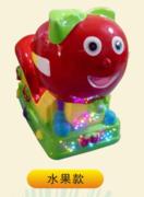 新款玻璃钢材质摇摆机 儿童投币摇摇车 水果 月光宝盒摇摆机