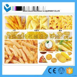 洋葱圈/妙脆角.2D/3D膨化食品 空心薯条二次膨化食品生产线