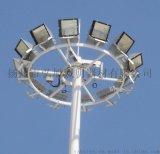 揚州弘旭專業生產12米9火高杆燈應用於港口廣場