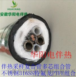 一體化伴熱管纜316ss不鏽鋼伴熱管天然氣伴熱管線