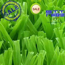 绿塔人造草LTWS503 PE材质 足球运动草坪 珠三角人造草坪施工