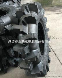 650-16水田高花轮胎 农用拖拉机轮胎6.50-16 R-2花纹