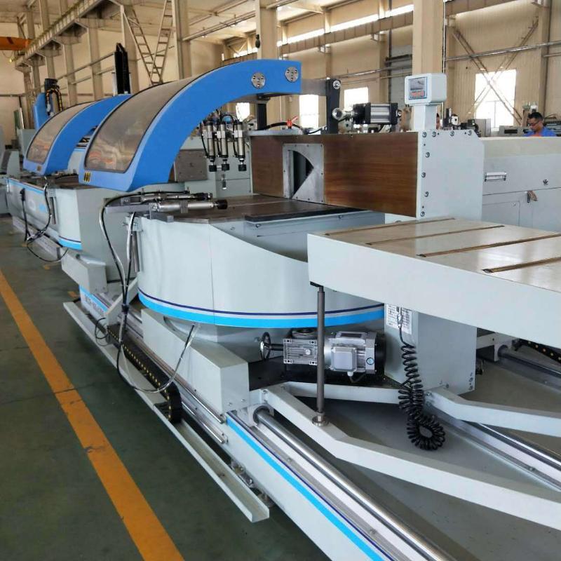 明美数控铝幕墙高速锯切设备 工业铝数控加工设备