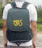 綠色揹包雙肩包學生包書包上海方振箱包定做