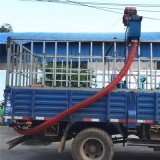 農村運糧雙管抽料機 大豆軟管吸糧機LJ
