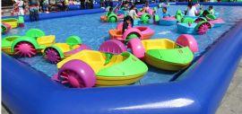 充气水池游泳池,厂家批发直销水上游乐设备大全,
