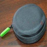 透明低价定做今年新品圆形耳机包 EVA耳机收纳包