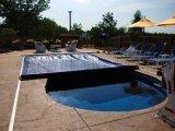 游泳池盖、电动泳池盖、自动导轨游泳池盖膜
