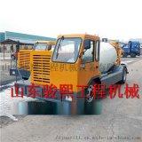 萍乡小型水泥搅拌运输车厂家 车载搅拌泵送水泥输送车