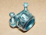 生产厂家批发UL接头 金属软管锌合金接头HS222