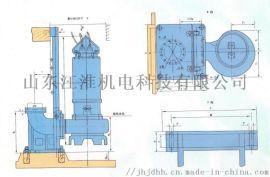 大型抽沙潜污泵增压管道泵泵体形状