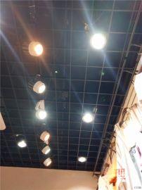 新款型材三角铝格栅,粉色铝格栅,铝格栅吊顶厂家