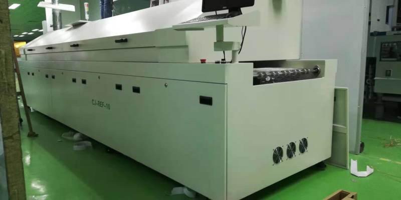 無鉛迴流焊機 十溫區SMT熱風迴流焊