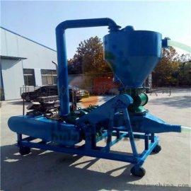 多用途黄土粉料风吸式气力输送机 博乐塔拉蒙古55吨气力吸料机