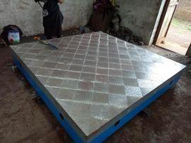 河北华威机械制造公司铸铁拼接平板