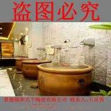 陶瓷温泉洗浴大缸定做 陶瓷洗浴大缸厂家 泡澡大缸定做