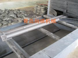 厂家供应圆管抛丸机&圆管除锈机&圆管打砂机&圆管喷砂机