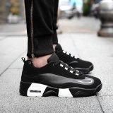 2016新款韩版潮流组合系带低帮运动休闲户外鞋