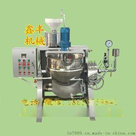 吉林花生豆腐机厂 我爱发明全自动花生豆腐机 鑫丰大豆腐机厂家